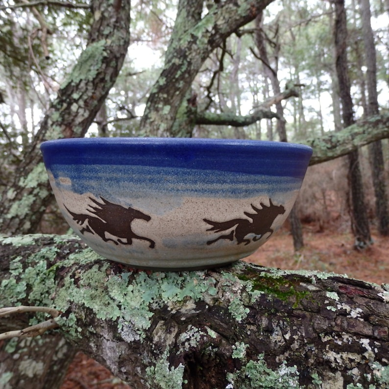 the horses of Corolla gallop around this special bowl Celebrating the spirit of the outer banks
