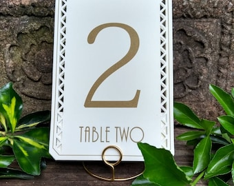 Handmade freestanding round wedding table number holders,photo holders,all colours!