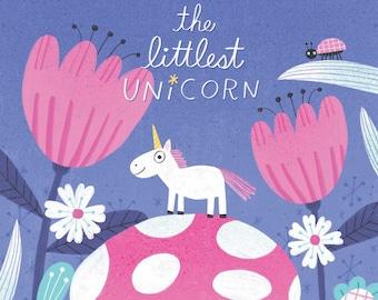 The Littlest Unicorn 8x10 Fantasy Children's Art Print