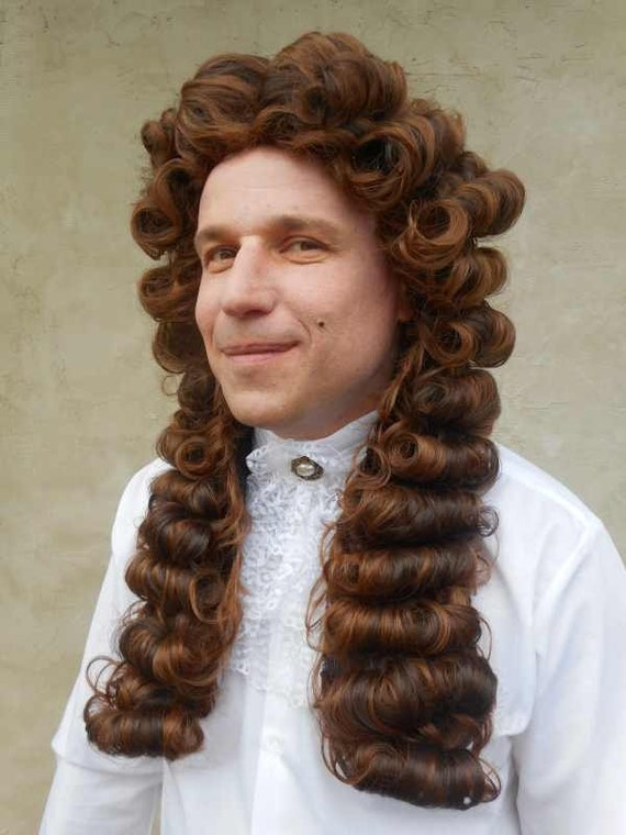 Louis Manner Barocke Perucke Richter Edle Perucke Geeignet Etsy