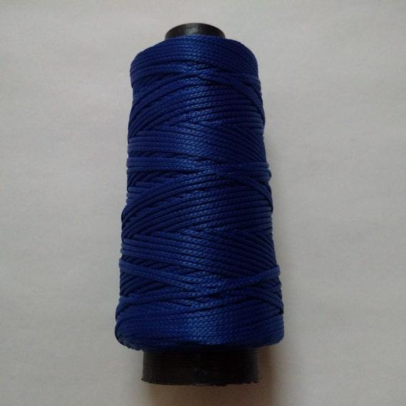 Iris Blue Viscose Rayon Cord Dori Thread Yarn Embroidery Etsy