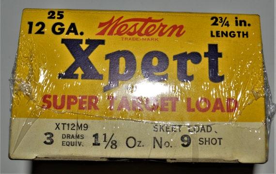 """WESTERN XPERT SHOT SHELLS 9/"""" x 12/"""" Sign"""