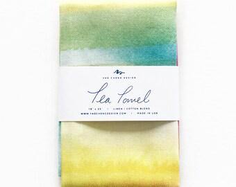 Summer Crush - Watercolor Tea Towel