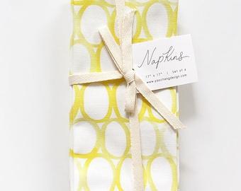 Lemon Drop - Set of 4 Napkins