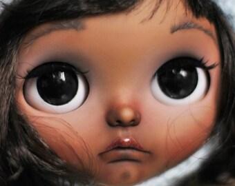 Helena. OOAK Custom Blythe doll.