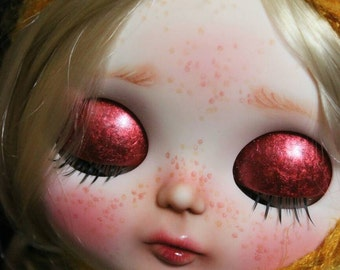 RESERVED.Amelia. OOAK Custom Blythe doll.