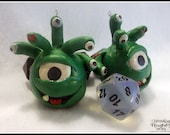 Items similar to Zombie Beholder Ornaments on Etsy