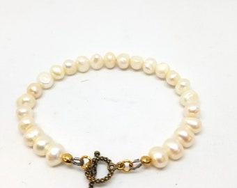 Freshwater Pearl Bracelet, Friendship Gift