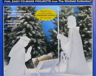 Blessed Nativity Wood Craft Pattern
