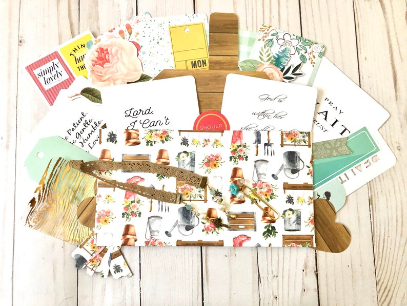 Grab Bag Planner Kit Journaling Penpal Fauxdori Gift Idea image 0