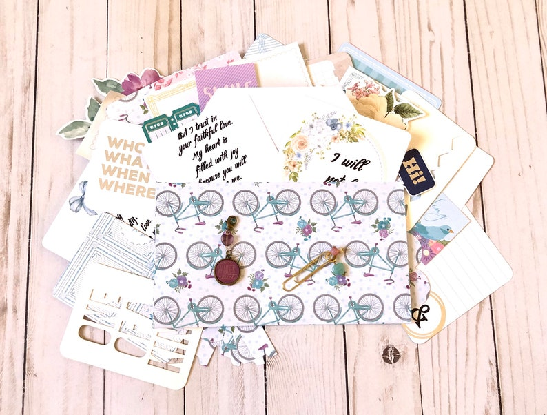 Grab Bag Planner Kit Journaling Penpal Fauxdori Gift Idea image 0