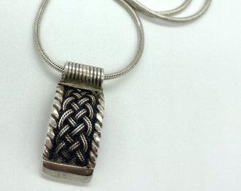 ><Silver braids><