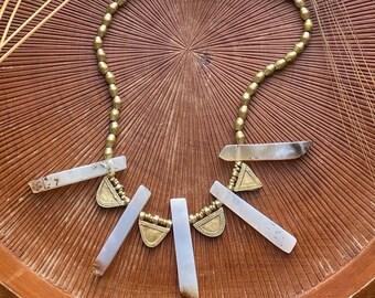 Telsum: Agate Talisman necklace