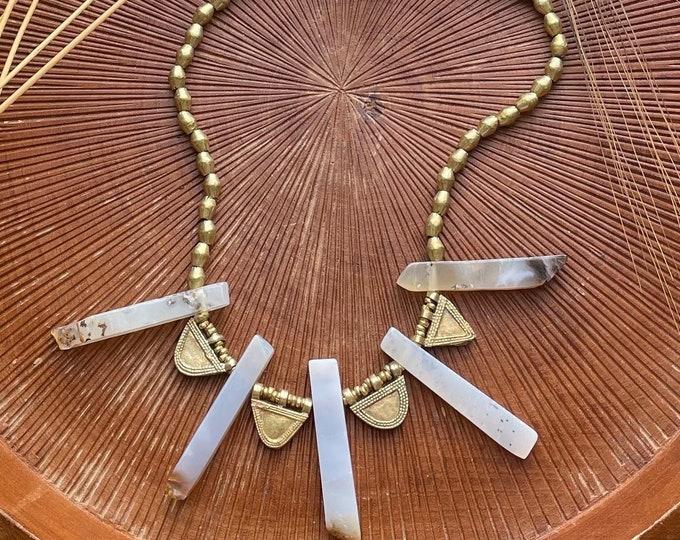 Featured listing image: Telsum: Agate Talisman necklace