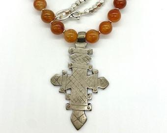 Axum Meskel beaded necklace