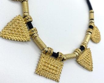 Gold Vermeil Ethiopian Necklace