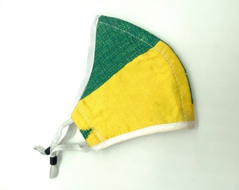 Hand made cotton adjustable mask