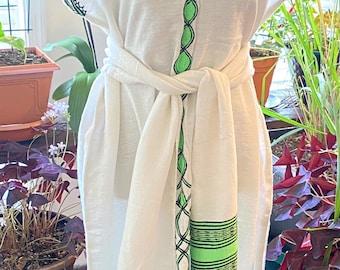 Handwoven 3 piece Ethiopian coffee ceremony dress