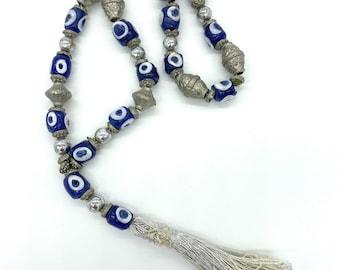 Vintage Turkish Evil eye Prayer beads
