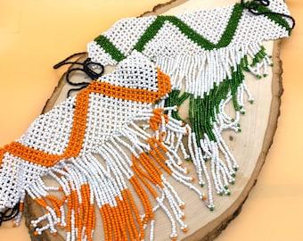 Nagaya Oromo hand beaded collars