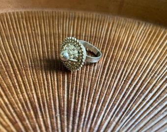 Vintage habesha gasha filigree ring