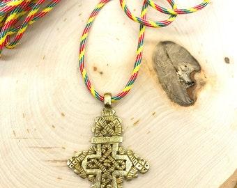 Ethiopian Axum Cross necklace
