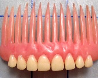 Denture Hair Comb (single comb)