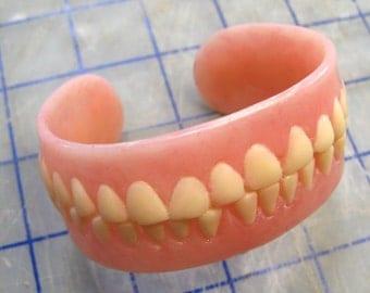 Denture Cuff Bracelet