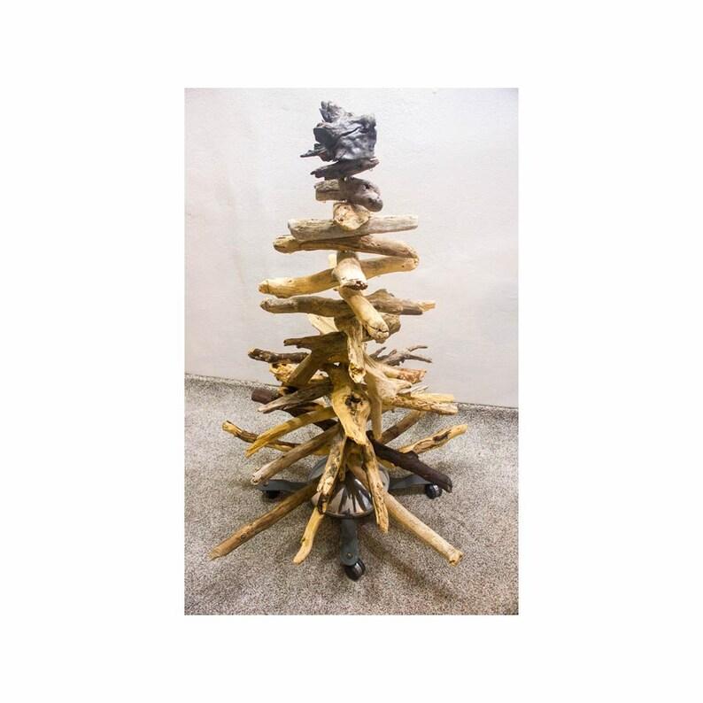 46 Driftwood Tree 82 Wood decor Holiday decor Beach image 0