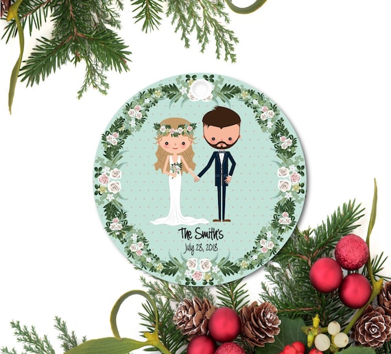 Our First Christmas Newylwed Ornament