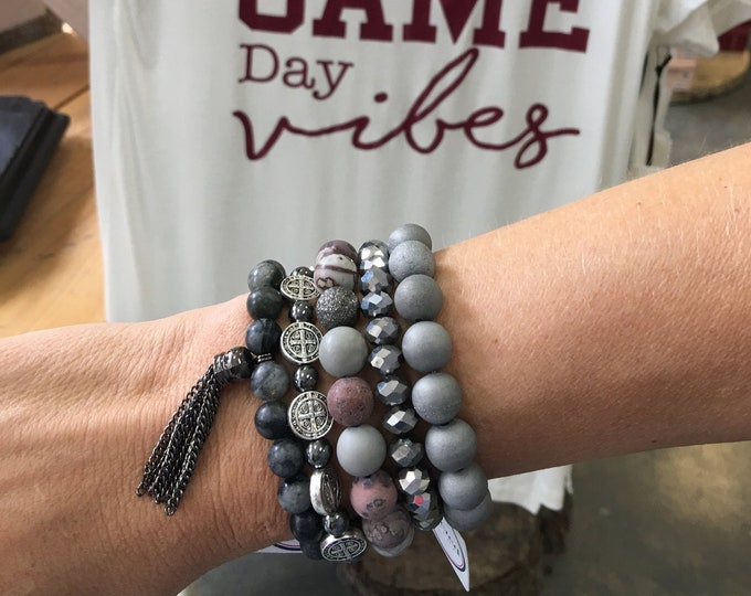 Game Day Greys Stack