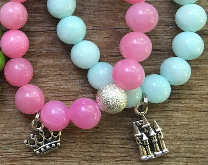 Little Girl Princess Bracelet Stack
