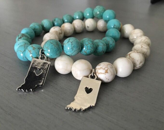 Indiana Charm Bracelet