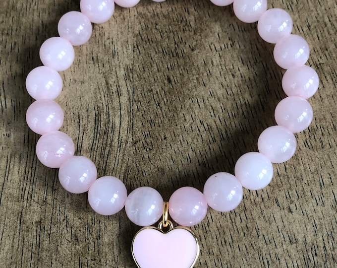 Pink Heart Bracelet