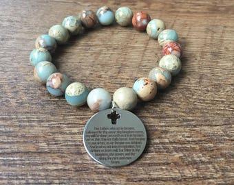 Our Father Charm Bracelet