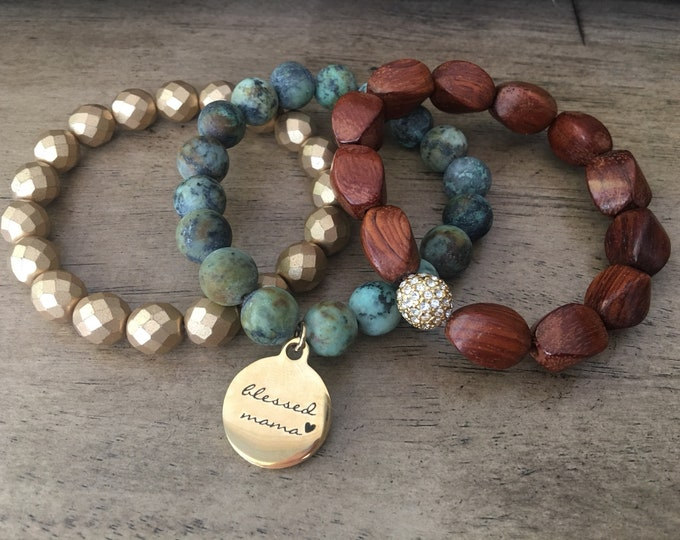 Mama Earth Bracelet Stack
