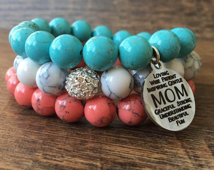 Mama Bear Bracelet Stack