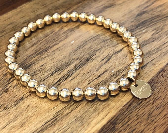 Simple 14k Gold fIlled bracelet