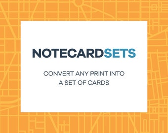 Create Your Own Note Card Set