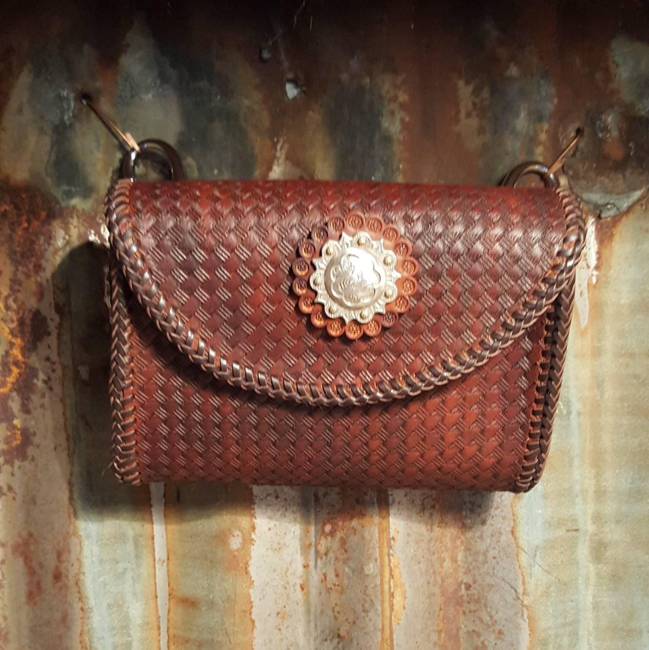 Adventure Bag Leather Treat Bag Hip Bag Belt Bag Leather