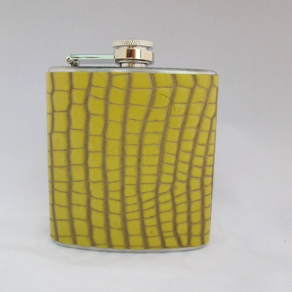 Every Day Collection Flask in Yellow