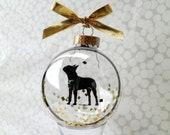 Boston Terrier/Pet ornament