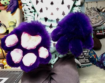 Fursuit flat paws