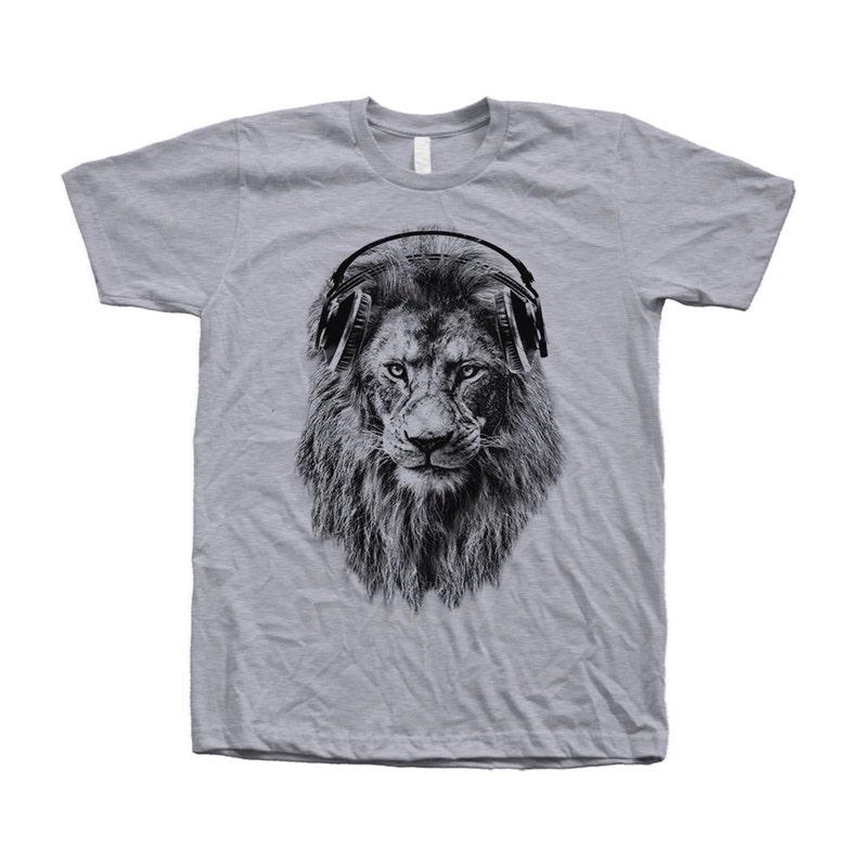 fe633ceedaf97e Lion T-shirt Unisex T-shirt Men s T-shity Animal Print