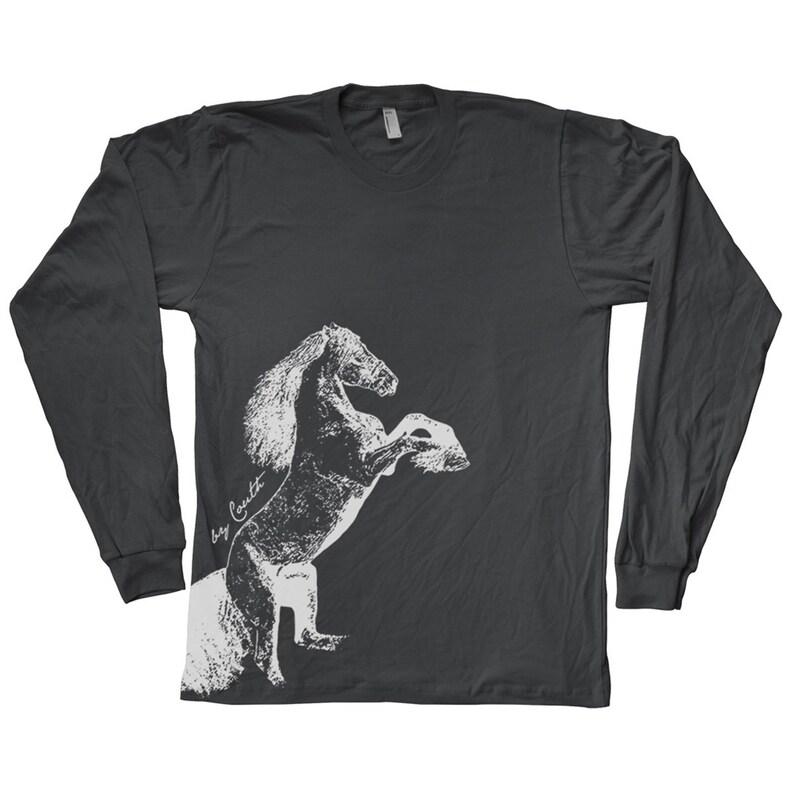 313adc4ca67345 T-Shirt Herren T-Shirt Unisex T-shirt Langarm grafische