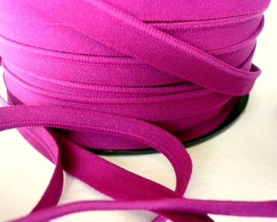 11mm wide Bra making band elastic White Colour Plain weave elastic