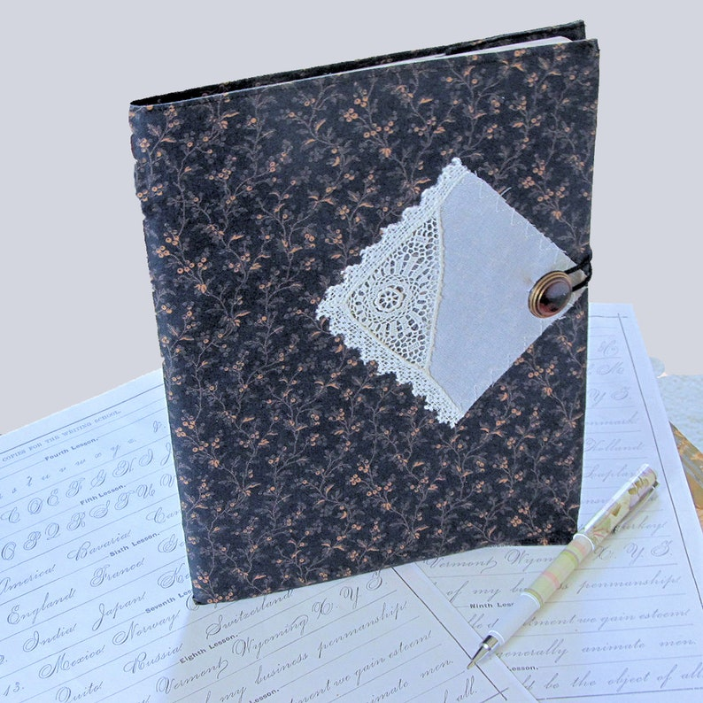 Composition Notebook Cover from Vintage Materials image 0