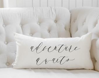 b6af1a0e08206 Adventure pillow   Etsy