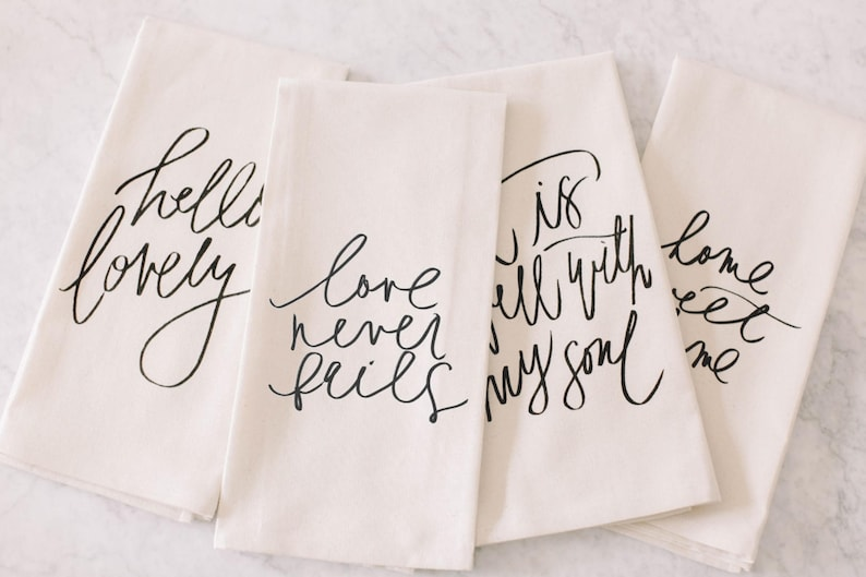 Bulk Listing Tea Towels wedding favor welcome gift office image 0