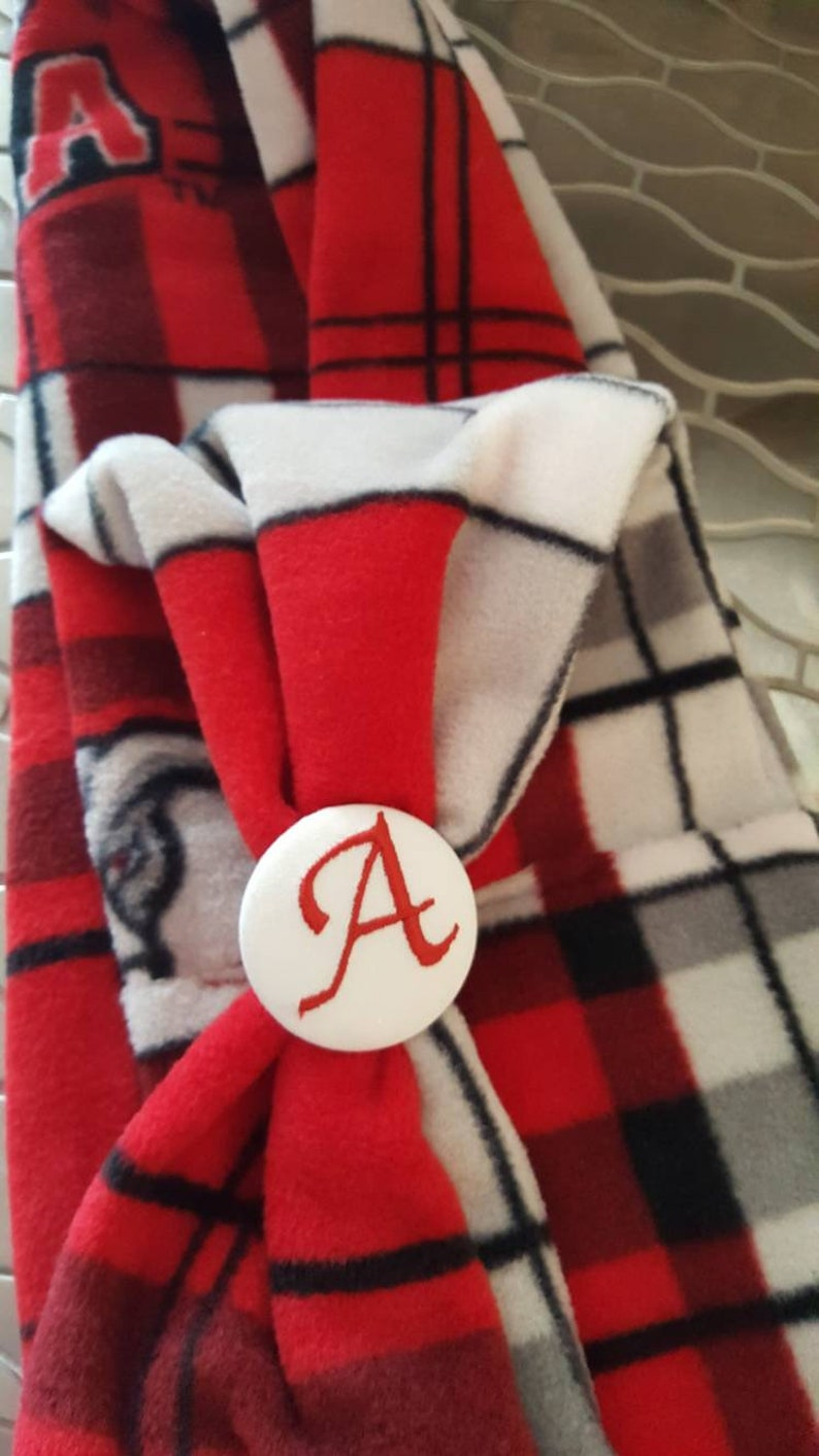 Men/'s or Women/'s Infinity scarves Roll Tide or any sports team you choose fleece or cotton